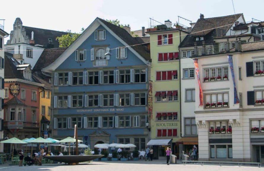 Best of Städtetrip Zürich - Sehenswürdigkeiten & Restaurants, Altstadt