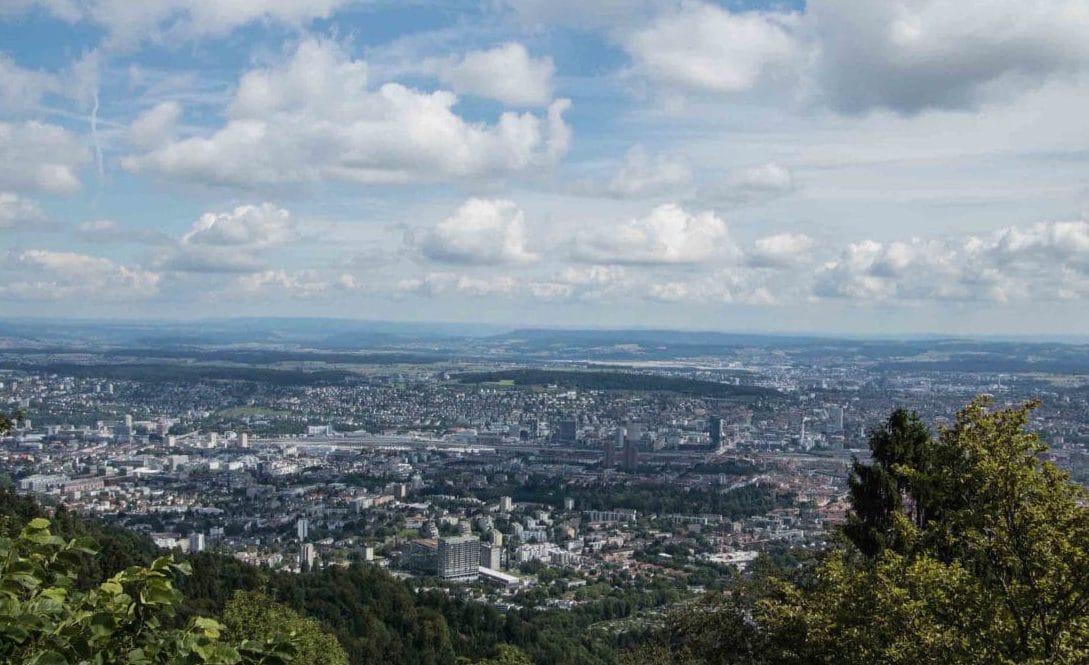 Best of Städtetrip Zürich - Sehenswürdigkeiten & Restaurants, gmüetliberg Aussicht