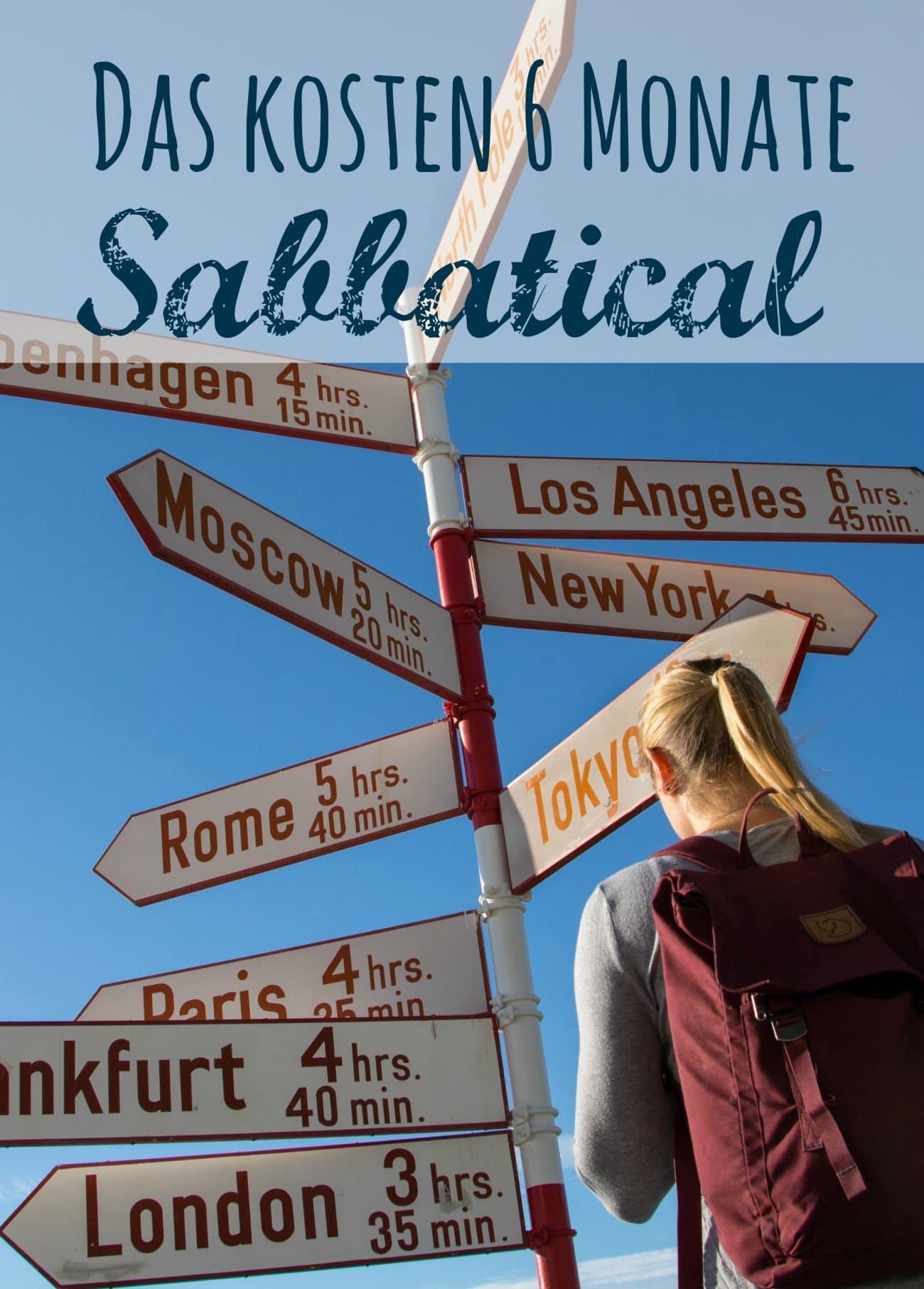 Kosten Sabbatical