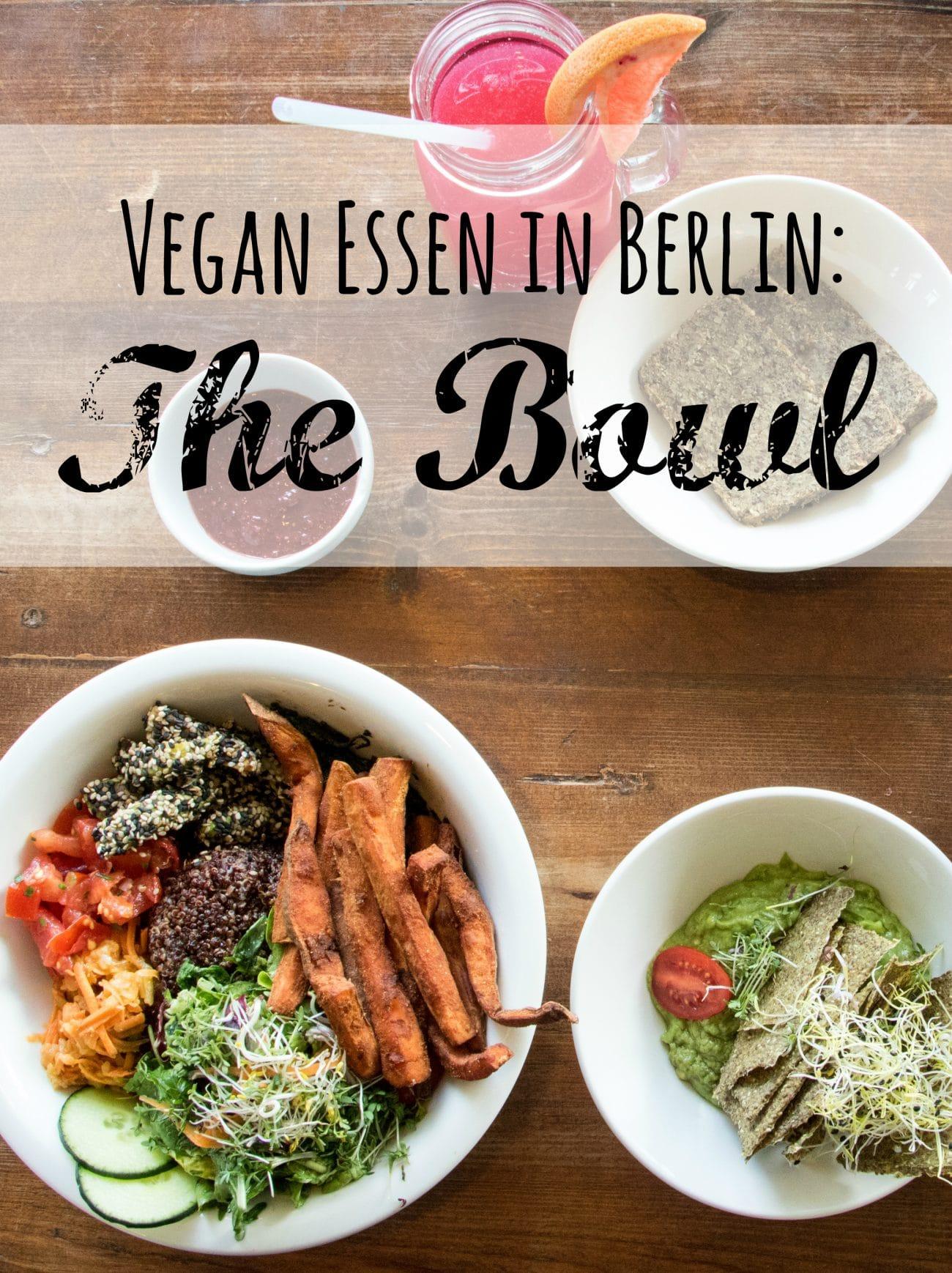 Veganes Restaurant in Berlin, The Bowl, Bild und Bericht von Passenger-X