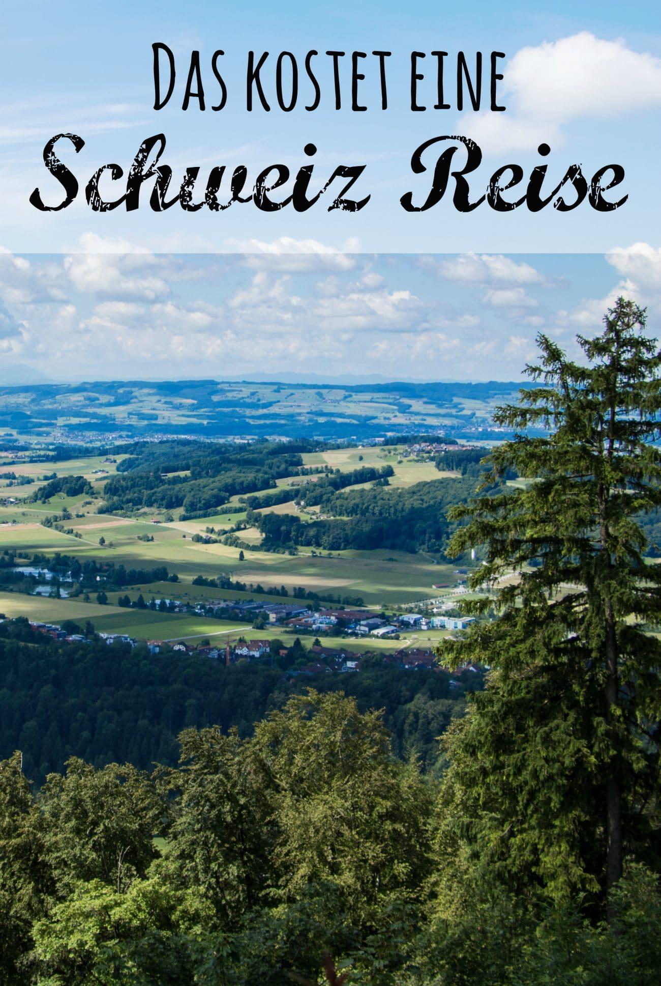 Kosten Schweiz Reise, Foto und Bericht von Passenger-X