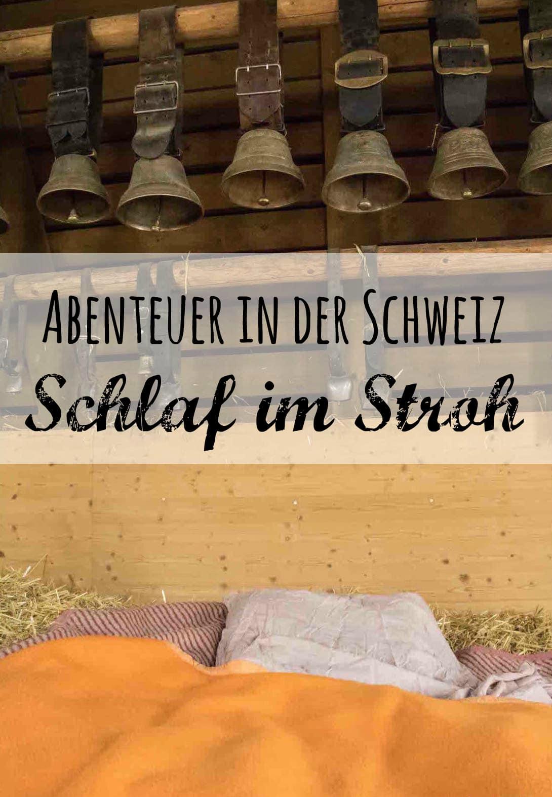 Schlaf im Stroh, Uebernachten auf der Alm Schweiz, Passenger-X