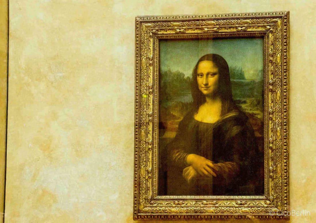 Städtereise Paris Tipps, Mona Lisa im Louvre