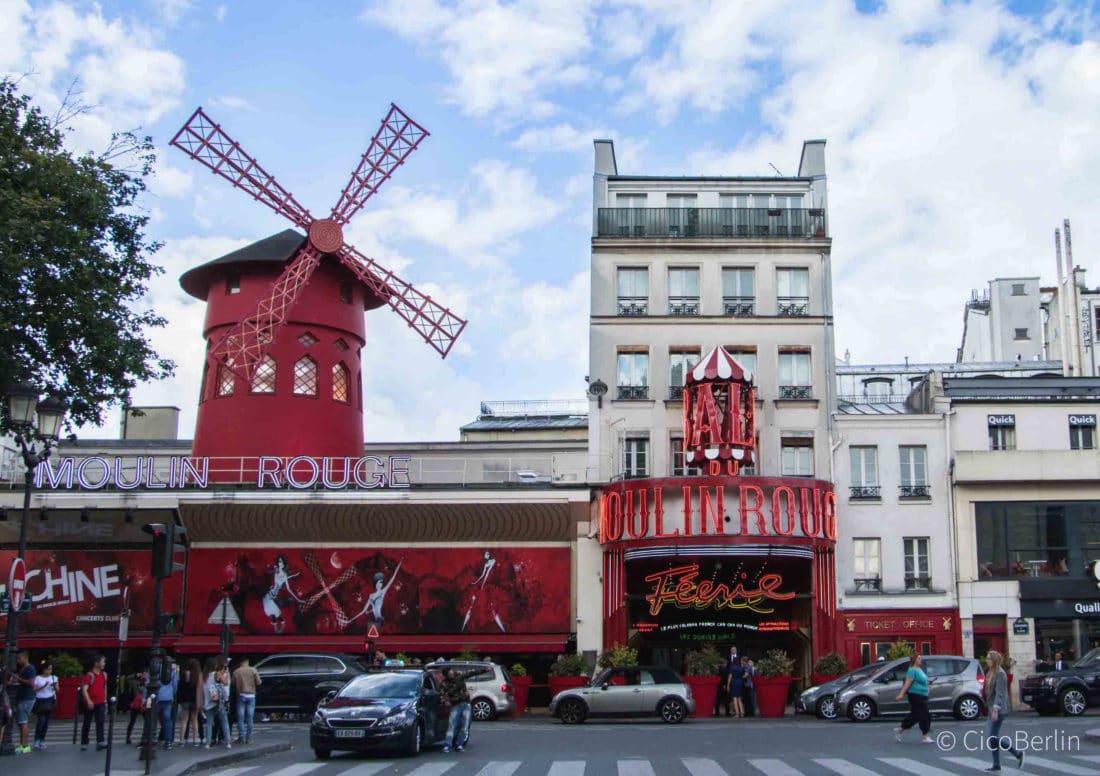 Moulin Rouge Paris - einer von 17 Tipps für die Stadt der Liebe