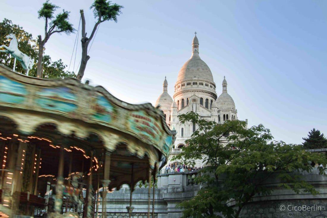 Städtereise Paris Tipps,Monmatre Sacre Coeur
