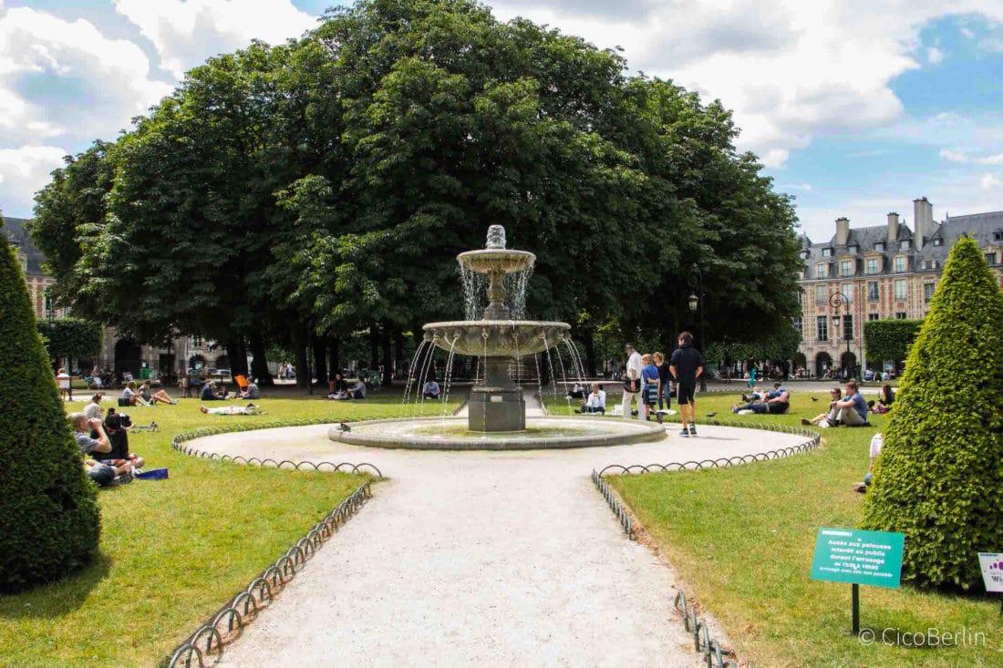 perfekte Städtereise Paris Tipps von CicoBerlin, Places des Vosges