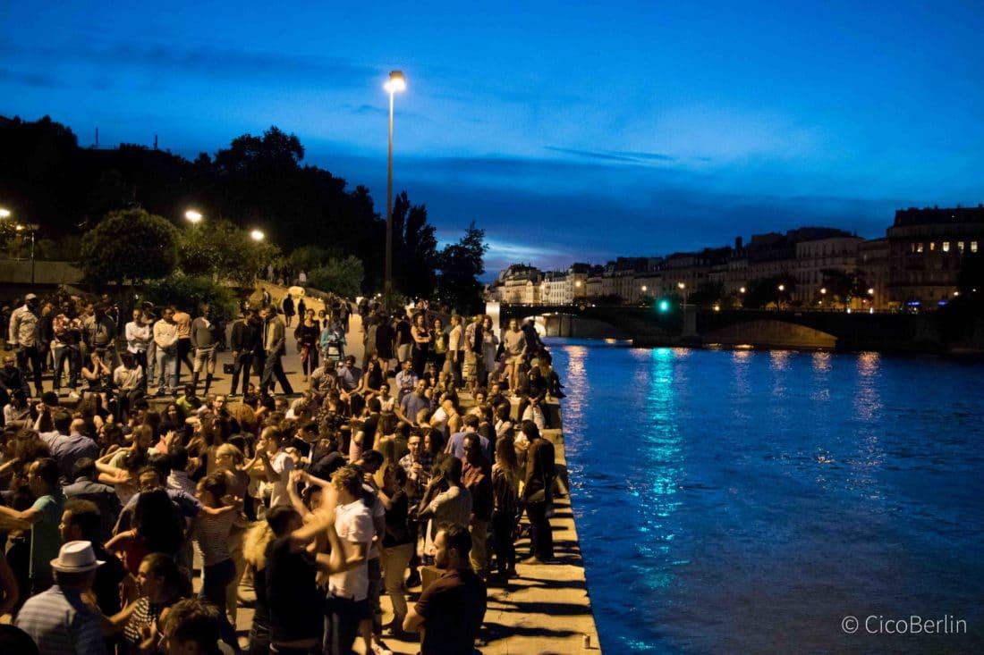 Städtereise Paris Tipps, Tango an der Seine
