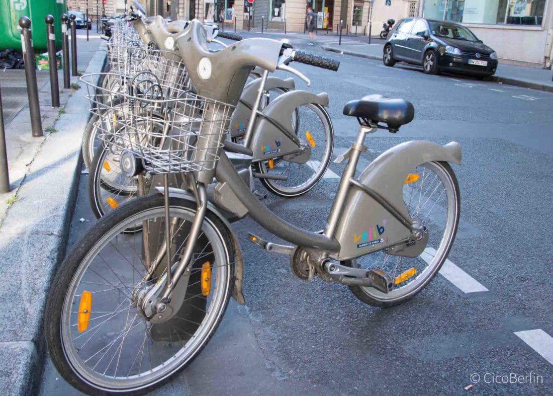 Städtereise Paris Tipps, Fahrrad leihen