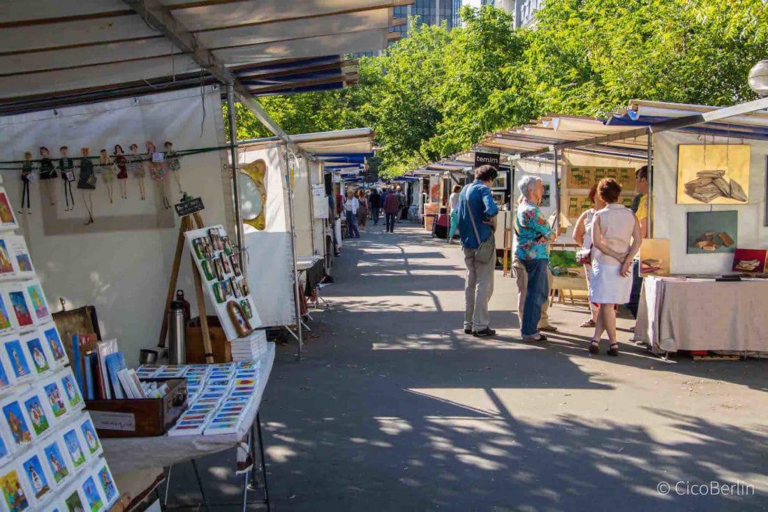 perfekte Städtereise Paris Tipps von CicoBerlin, Kunstmarkt