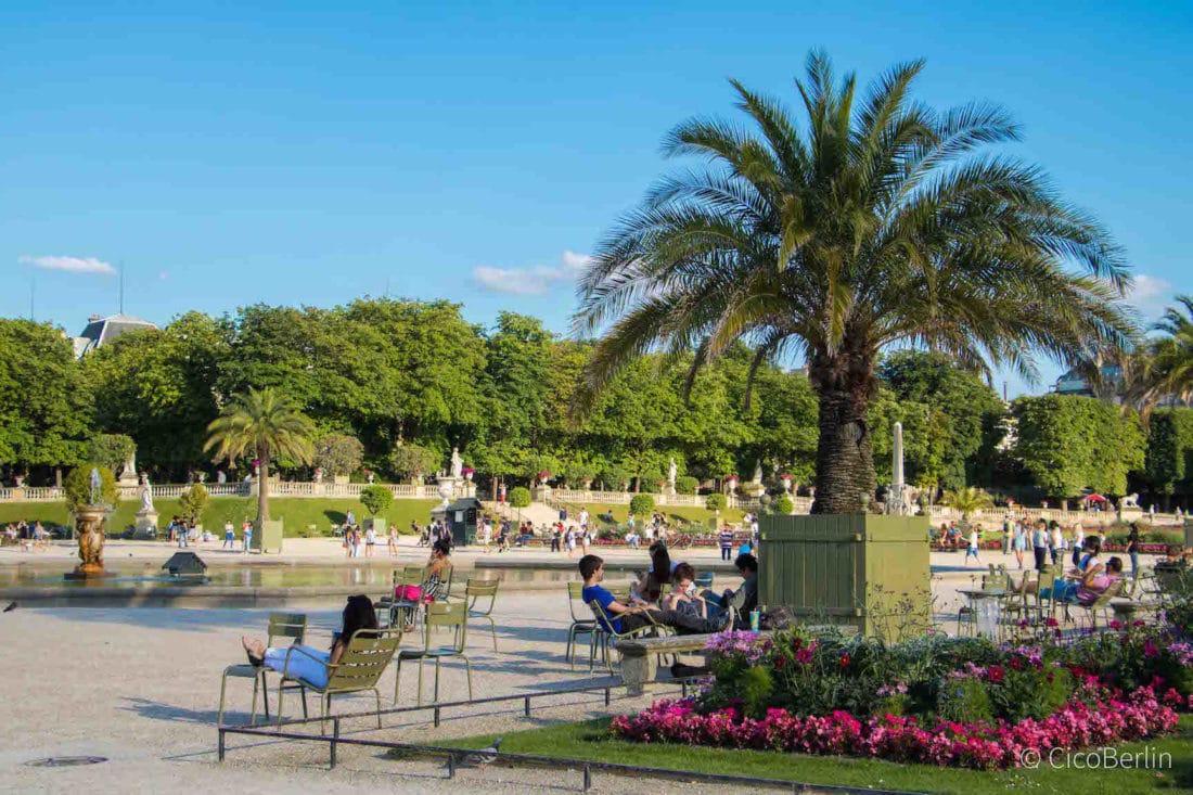 Städtereise Paris Tipps, Luxemburggarten
