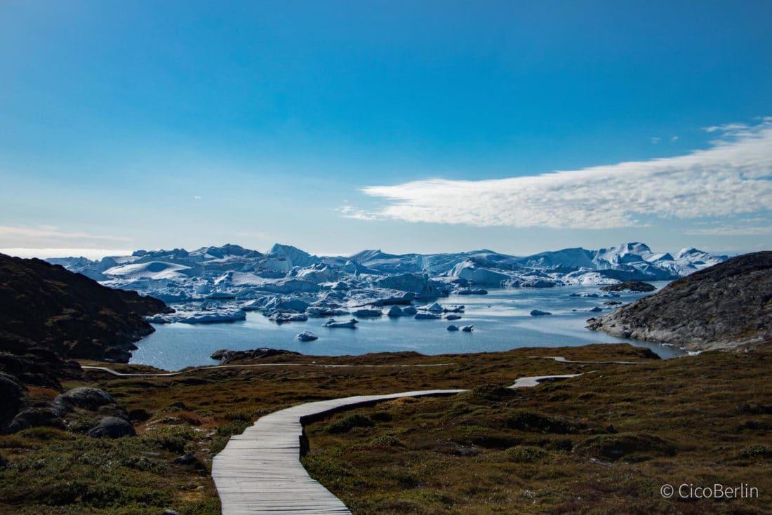 Grönland, Eisfjord in Ilulissat