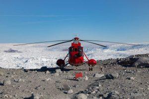 Helikopterflug in Ilulissat zum Eqip Gletscher