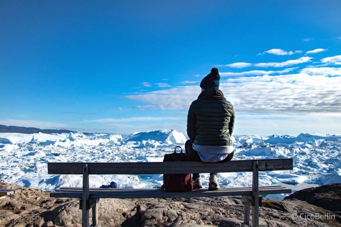 Packliste Grönland, Eisfjord in Ilulissat, Aufnahme von CicoBerlin