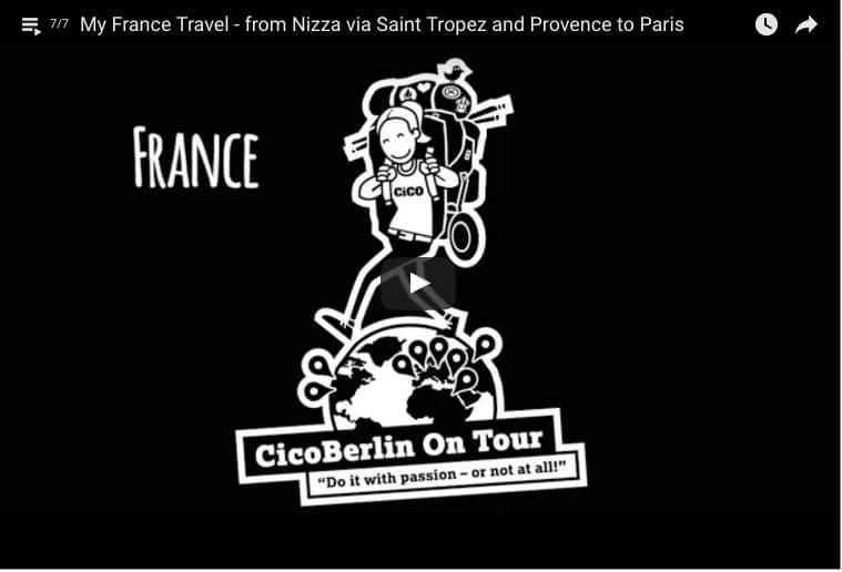 Frankreich Reise Video von CicoBerlin