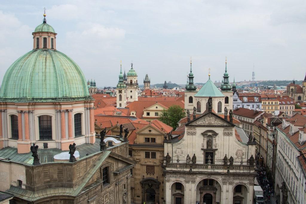 die Highlights in Prag, Blick über die Dächer