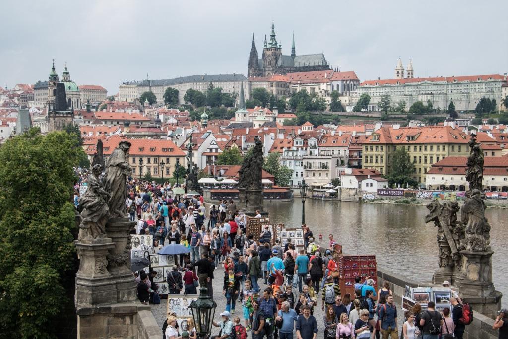 die Highlights in Prag, die Kappelbrücke von CicoBerlin