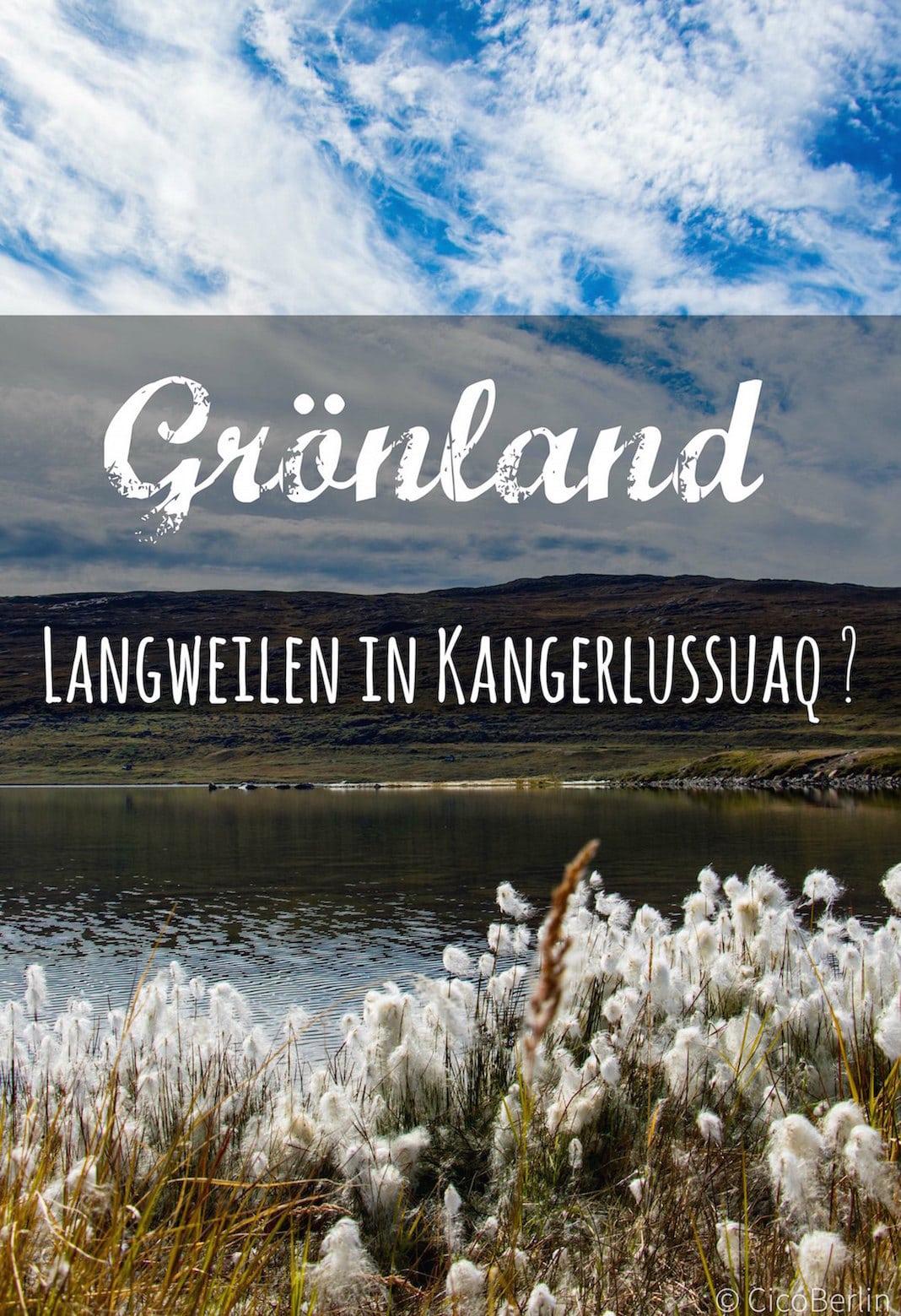 Arktis Individualreise nach Grönland Kangerlussuaq