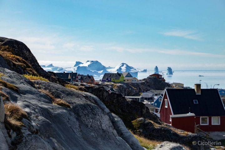Der schönste Ort in Grönland: wo Schlittenhunde heulen und Eisberge krachen(Ilulissat)
