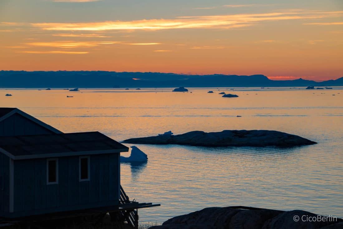 Ilulissat - der schönste Ort in Grönland, wo Schlittenhunden und Eisbergen, Reisebericht von CicoBerlin