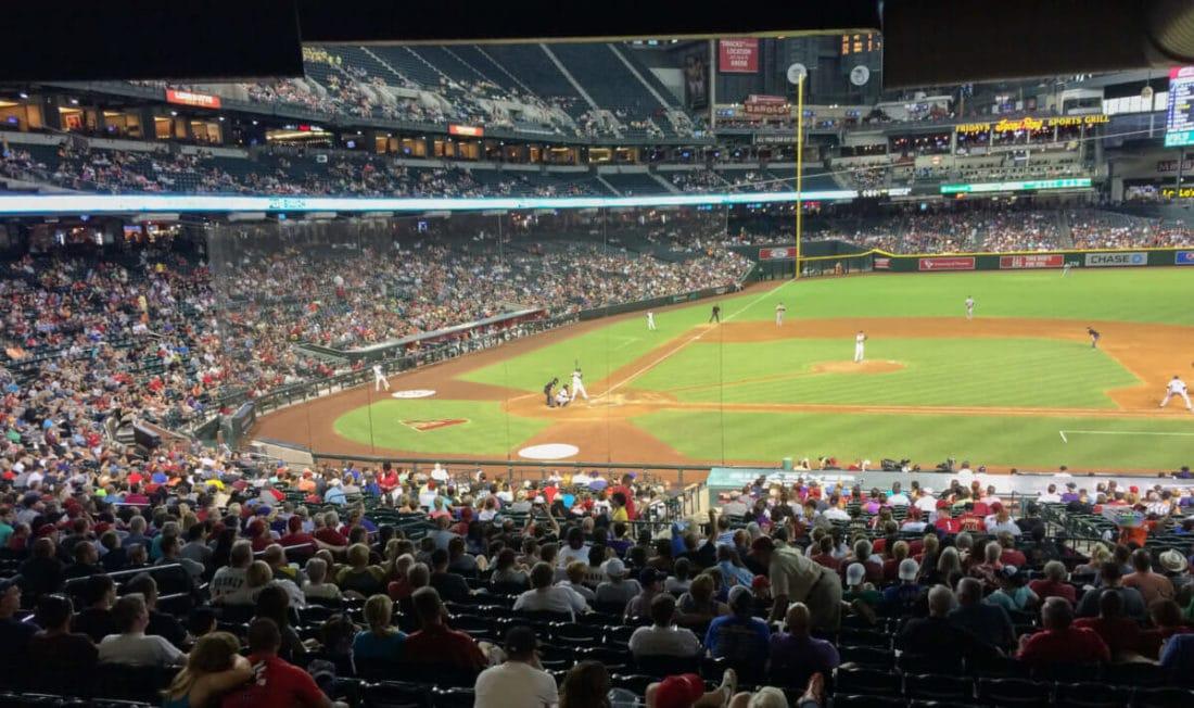 Spiel der Arizona Diamondhawks - Road Trip durch die USA