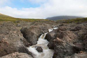 Fluss in Grönland