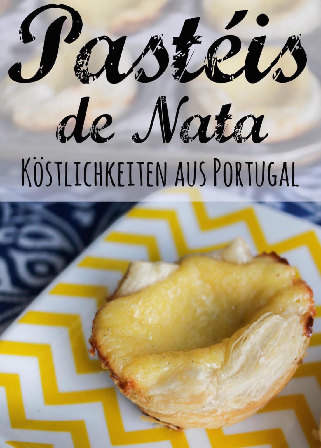 Rezept Pastéis de Nata, portugiesische Törtchen, von CicoBerlin