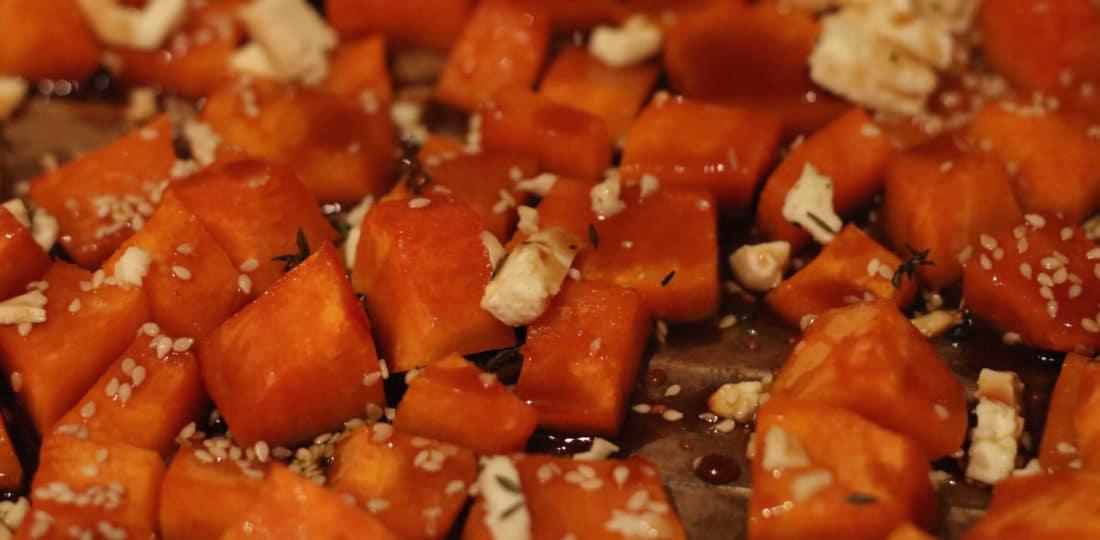 Super einfaches Rezept: gerösteter Kürbis - genau das richtige für den Herbst, von CicoBerlin