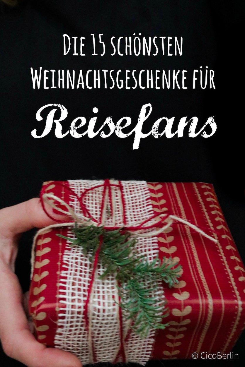 Die 15 schönsten Weihnachtsgeschenke für Reisefans von CicoBerlin
