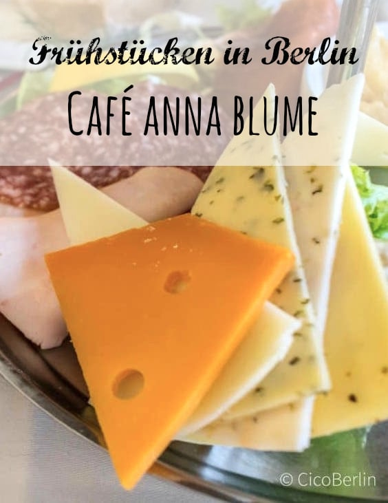 rühstücken in Berlin: Café Anna Blume