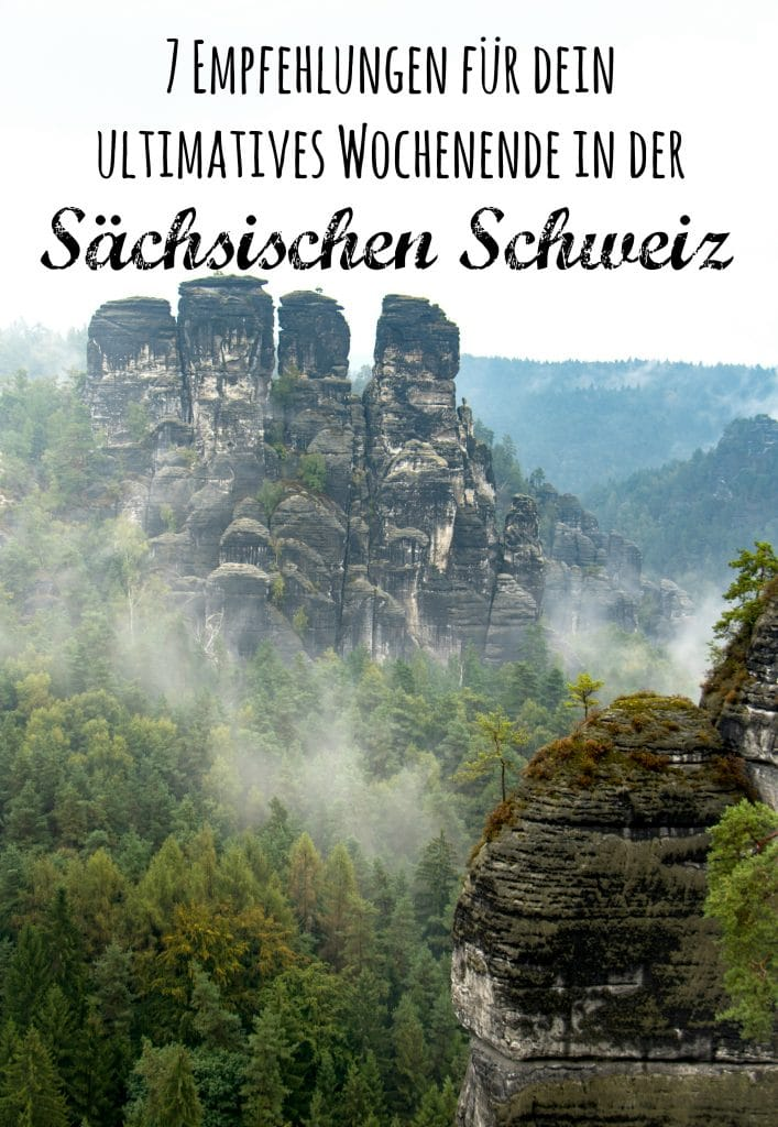 Empfehlungen für dein ultimatives Wochenende in der Sächsischen Schweiz von PASSENGER X