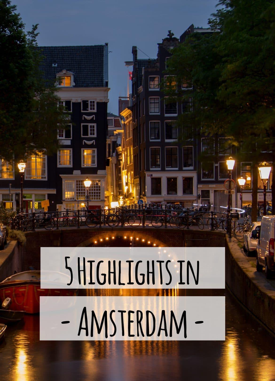 PASSENGER X verrät dir ihre 5 Top Highlights in Amsterdam