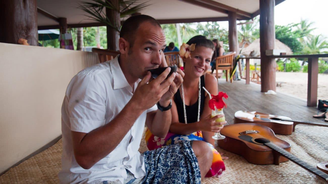 PASSENGER X: Sabbatical InterviewmitJenny und Reto:Was, wenn der Chef nichts vomSabbaticalhält? (Fiji)