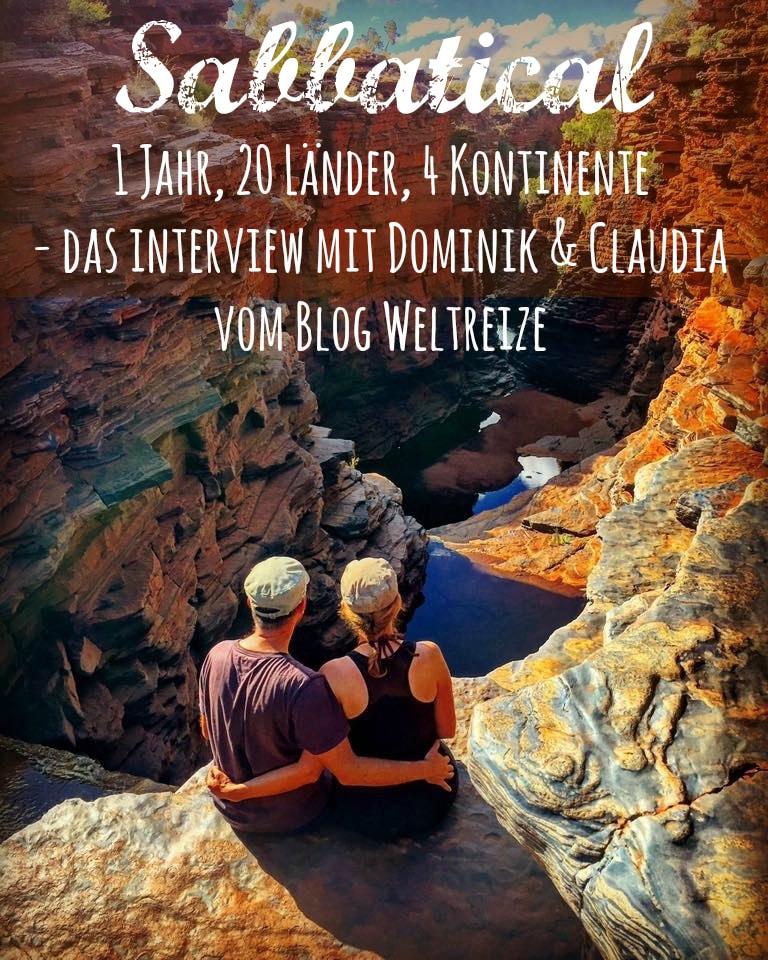 Interview: Claudia & Dominik über ihre einjährige Weltreise durch 20 Länder auf vier Kontinenten