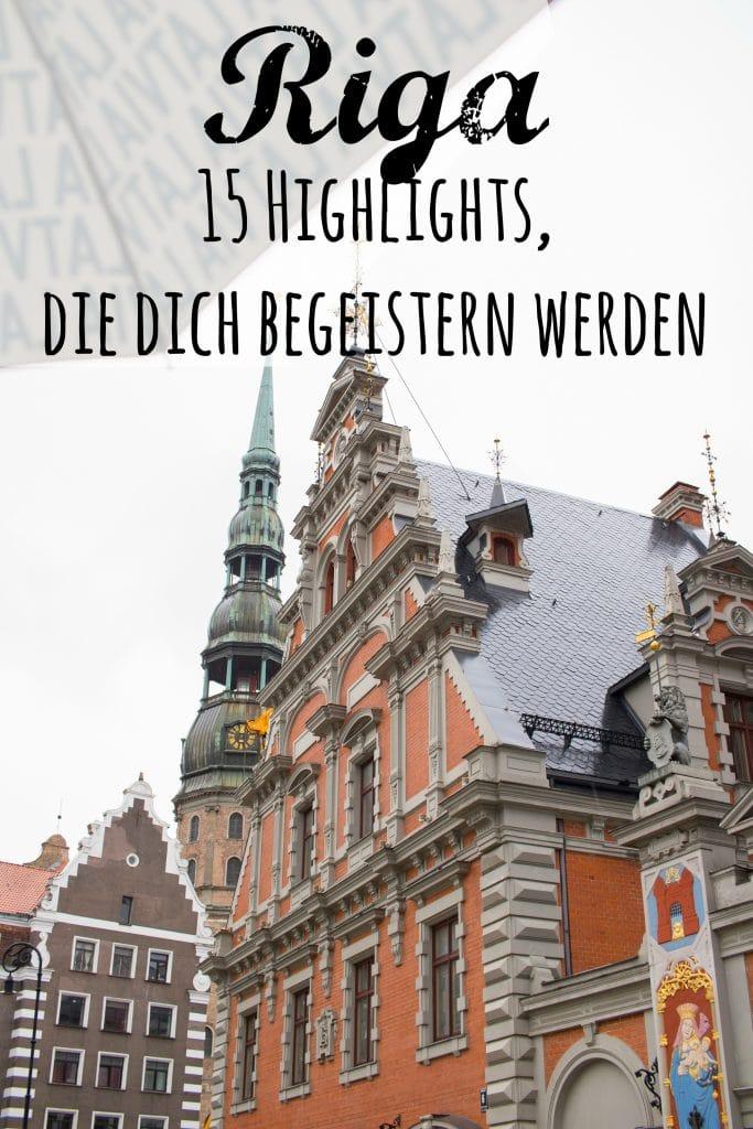 15 Riga Highlights, die dich begeistern werden - von PASSENGER X