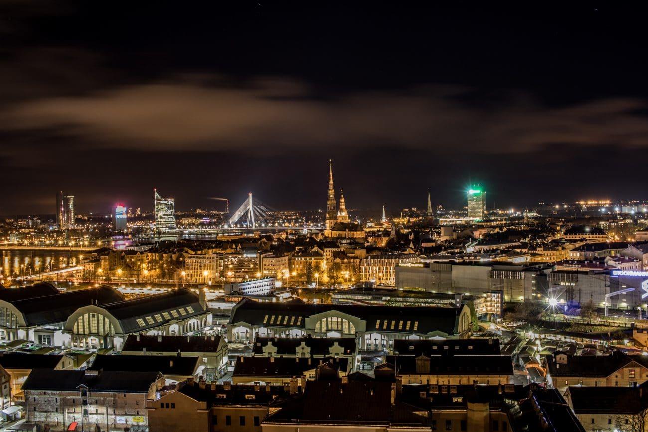15 Riga Highlights_Aussicht von der Akademie der Wissenschaften, Artikel von PASSENGER X