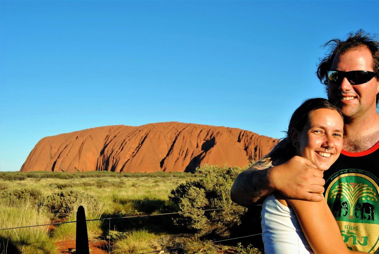 Sabbatical Interview_Denny und Sarah unterwegs_Uluru