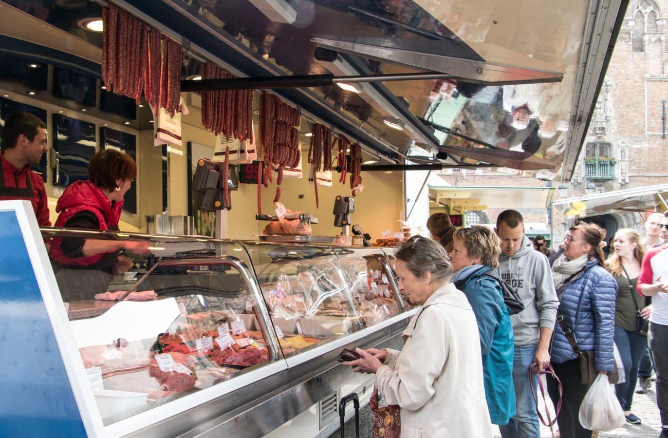 Tops und Flops Bruegge - der Markt
