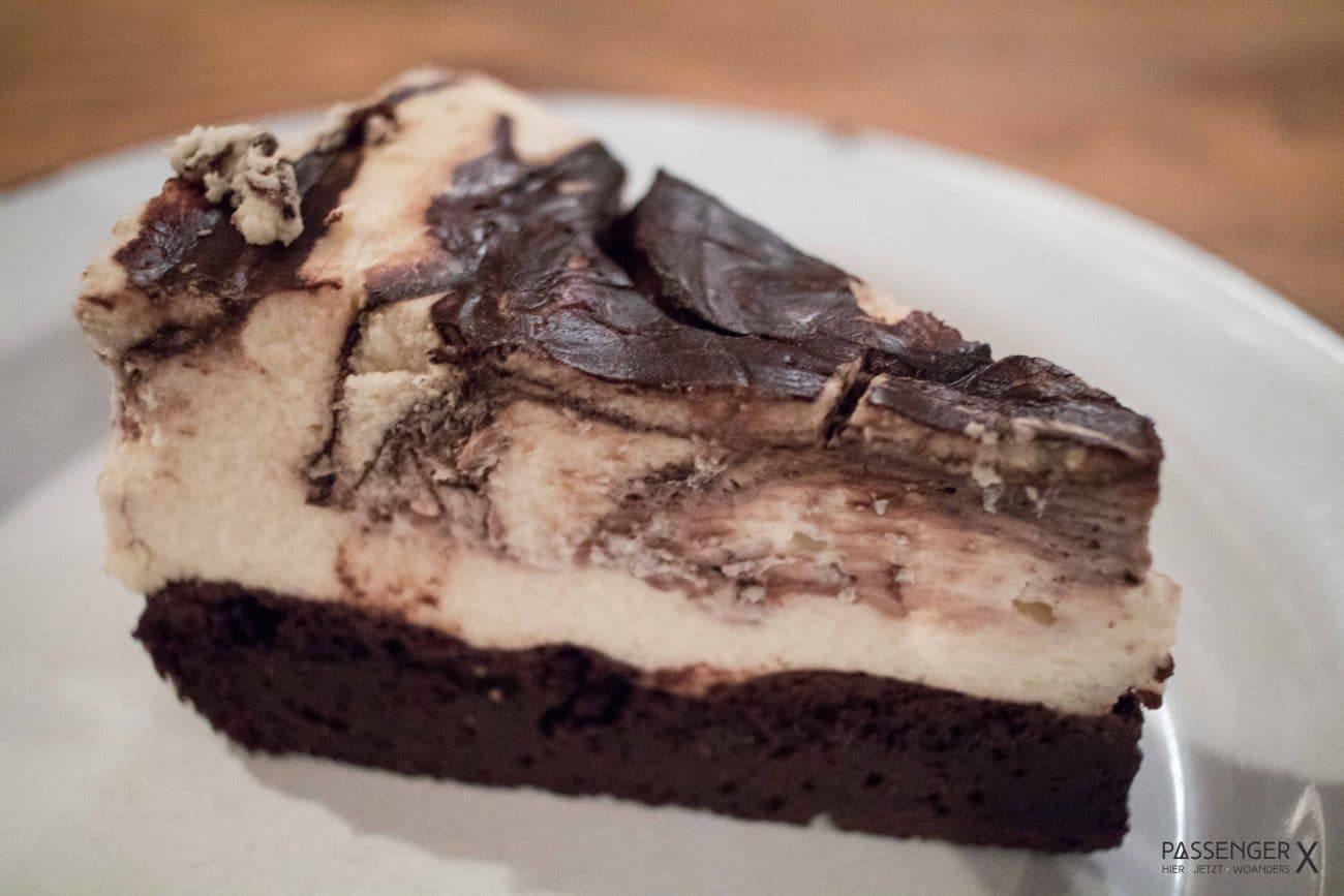 Brownie Cheesecake bei Chicago BBQ Williams - Bericht und Foto von PASSENGER X