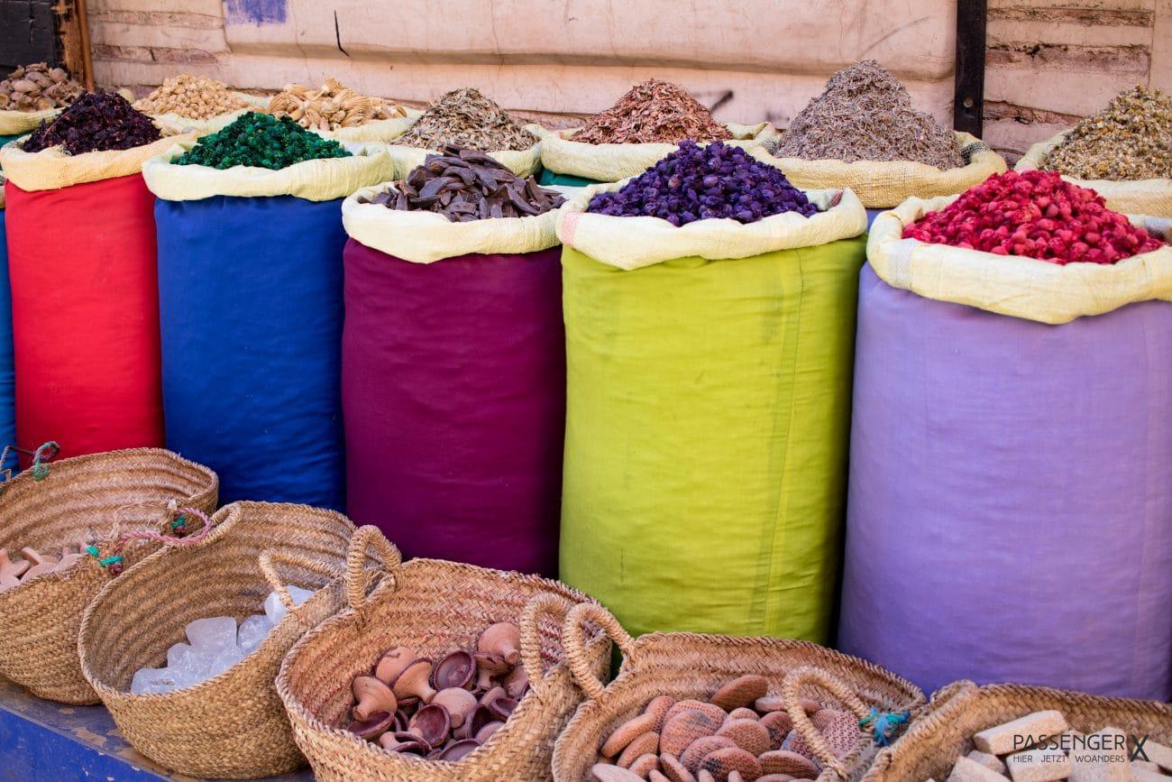 Die coolsten Mitbringsel aus Marrakesch - Gewuerze - Artikel erschienen auf PASSENGER X