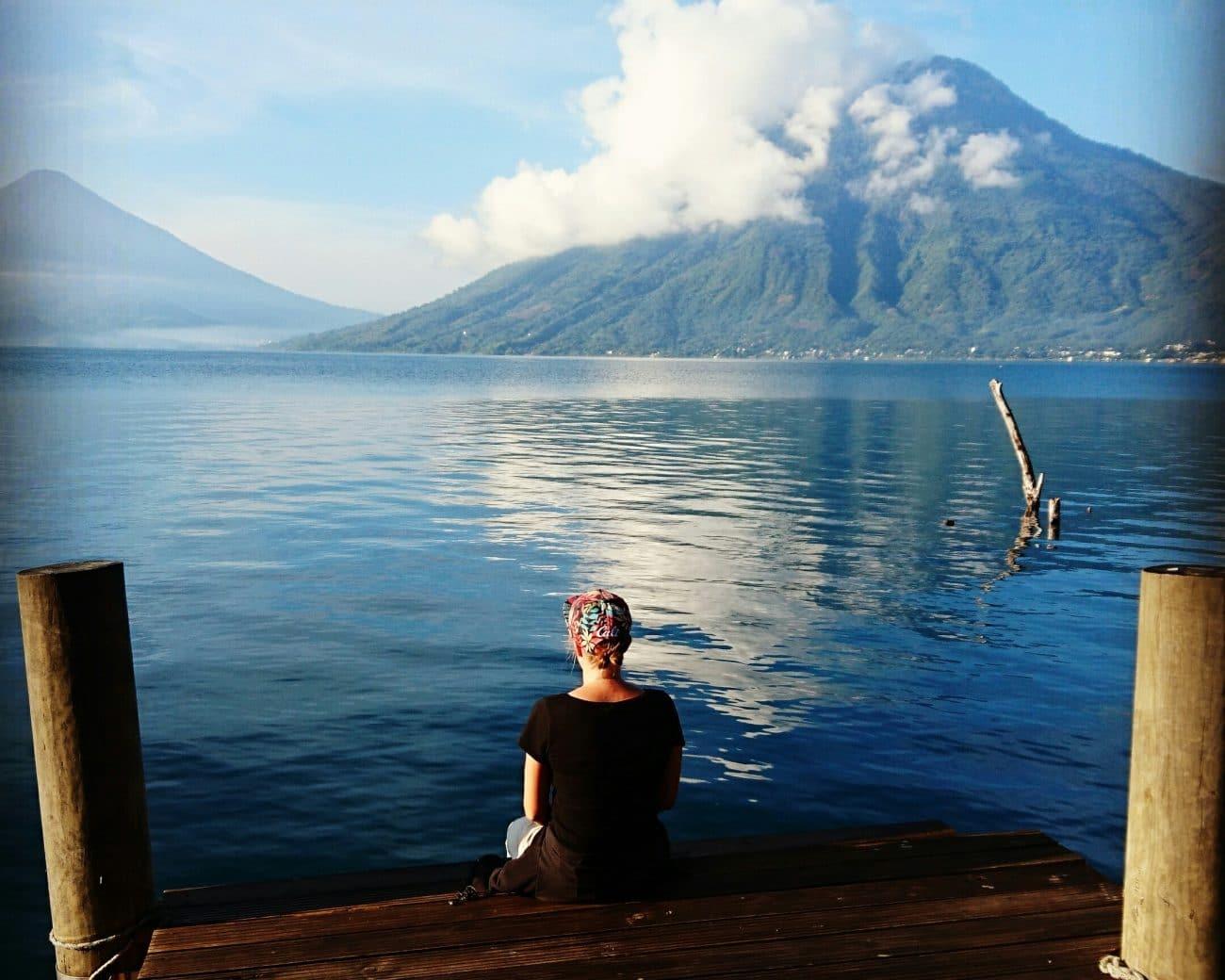 PASSENGER X Sabbatical Interview mit Sandra_Lake Atitlan_Guatemala