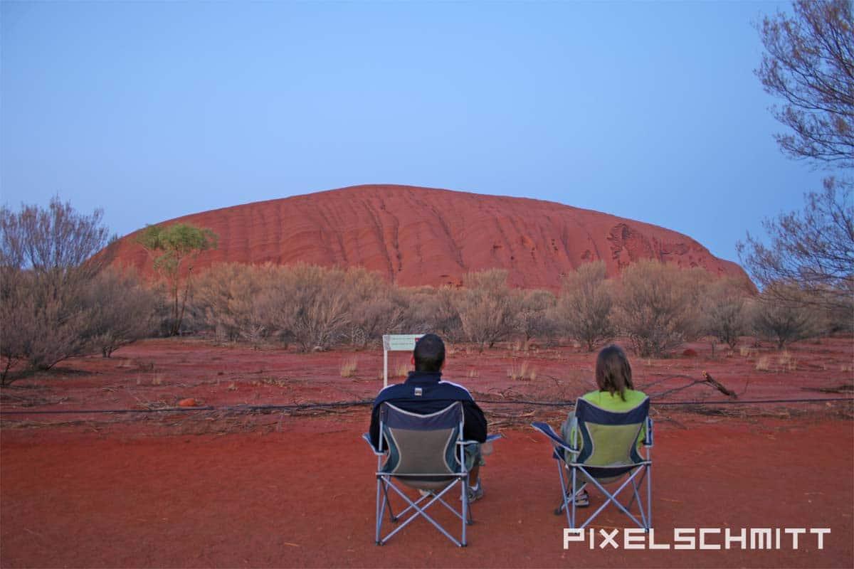 Das Passenger X Sabbatical Interview mit pixelschmitt - Ayers Rock morgens