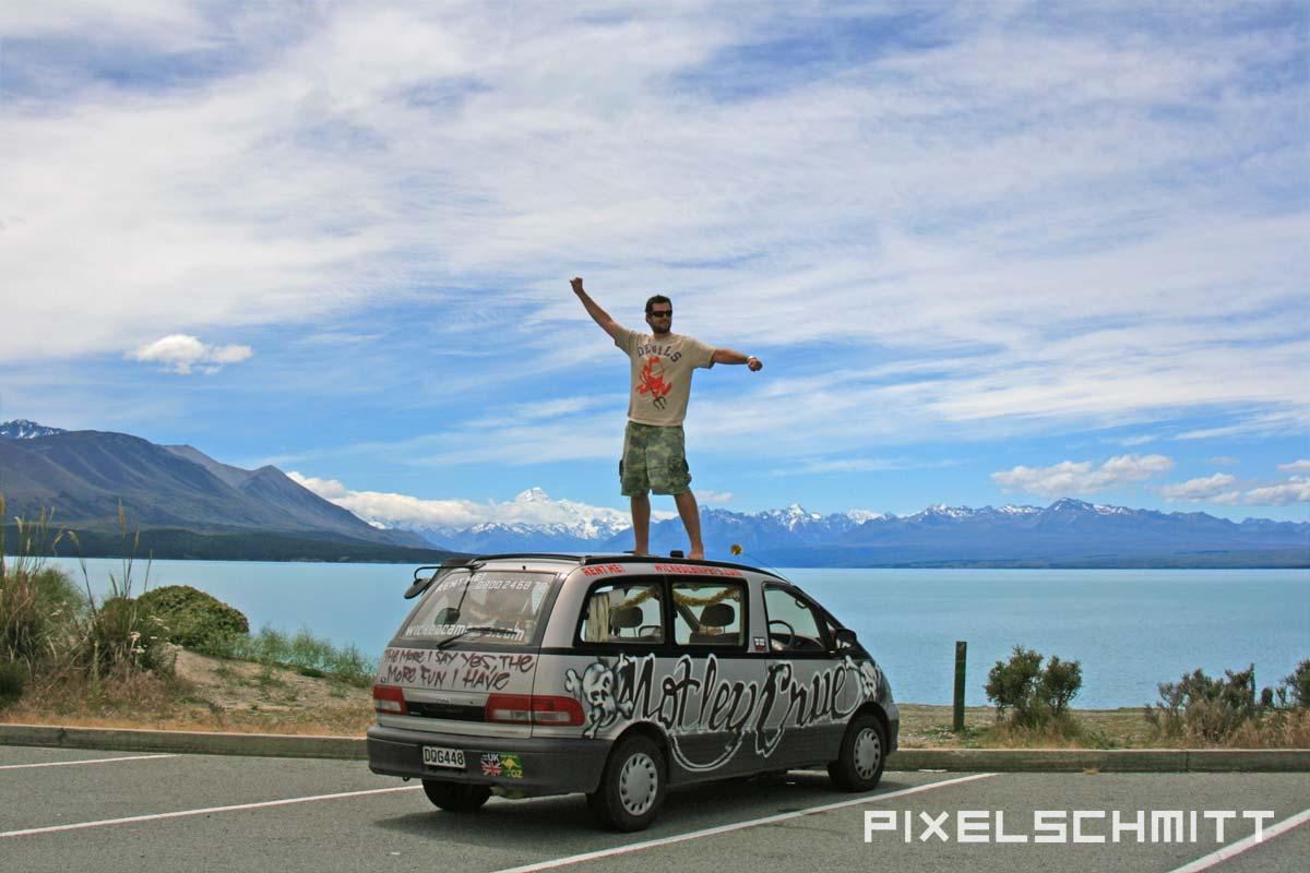 Das Passenger X Sabbatical Interview mit pixelschmitt - Wicked Camper Neuseeland