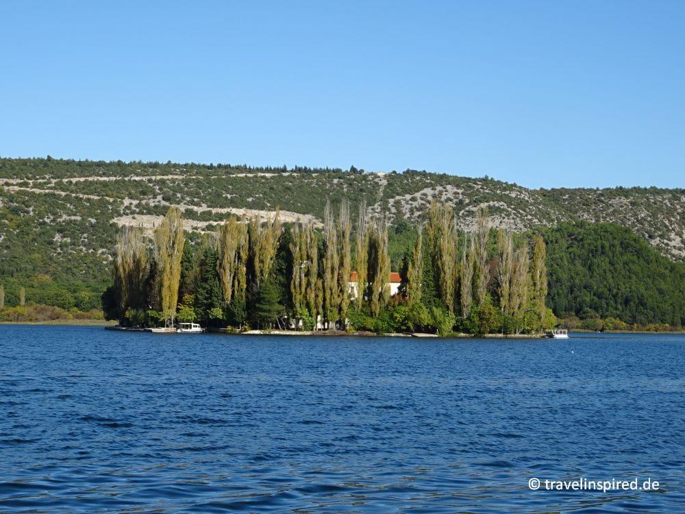 Kroatien Insider Tipp: Klosterinsel Visovac von travelinspired