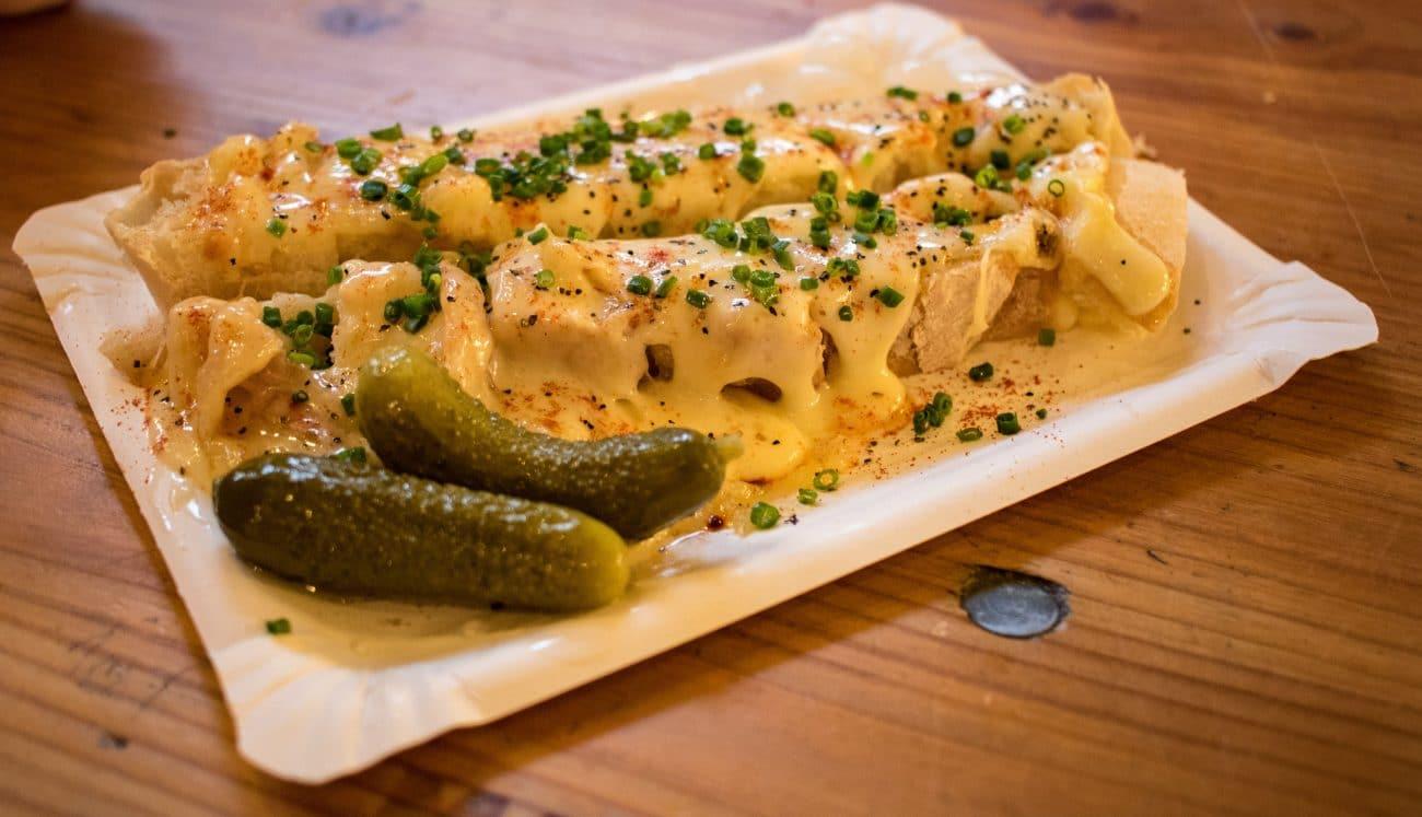 Street Food Thursday in der Markthalle Neun - Raclett von Cheesus