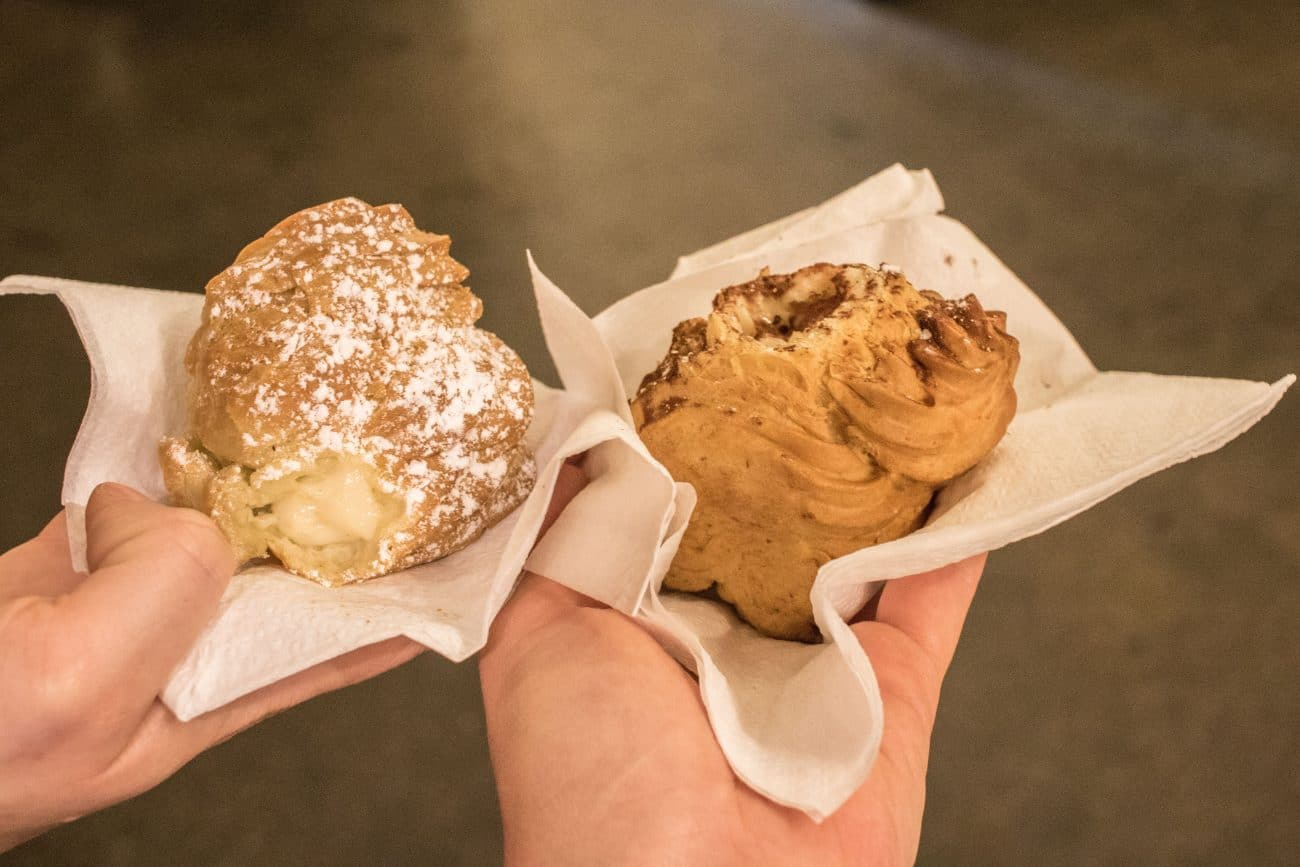 Street Food Thursday in der Markthalle Neun - Bigne von Kuchen von Gaia