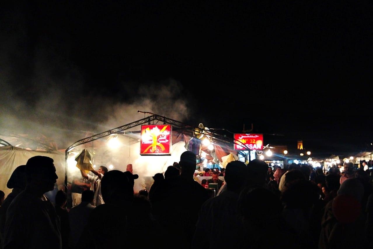 Marrakesch-bei-Nacht_Lieschenradieschen