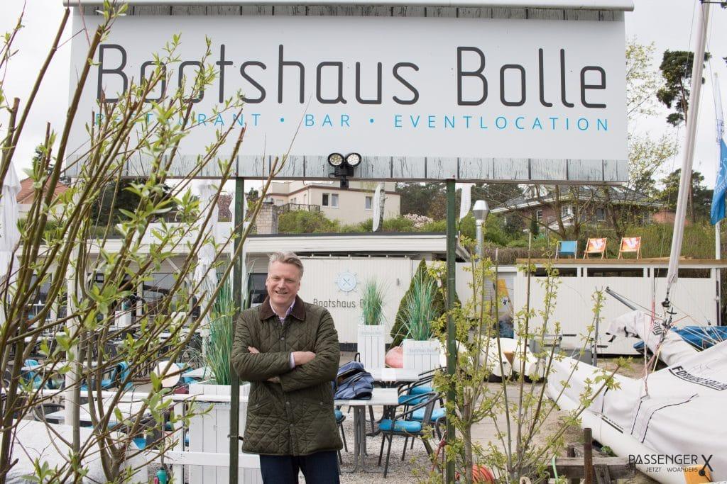 Zehlendorf Insider Tipp - ein Ort zum Entspannen: das Bootshaus Bolle am Wannsee
