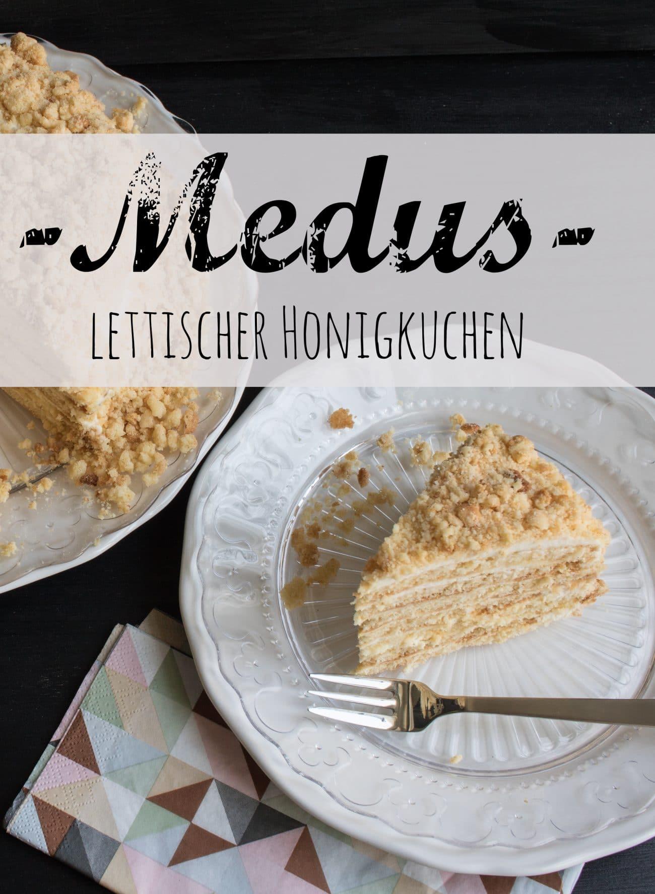 Lettischer Honigkuchen _ Rezept Medus