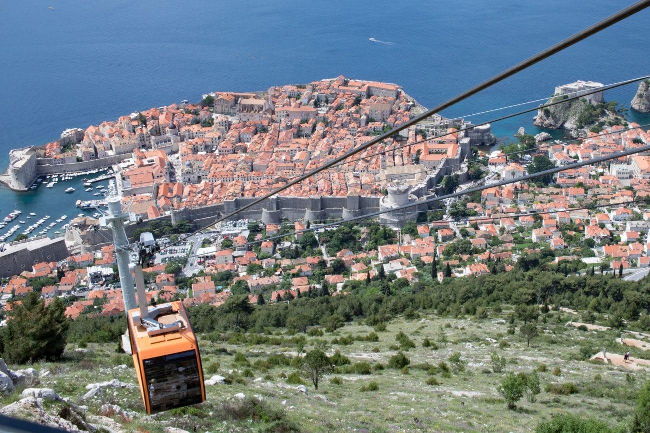 Dubrovnik Seilbahn _ Dubrovnik Sehenswuerdigkeiten und Tipps von PASSENGER X