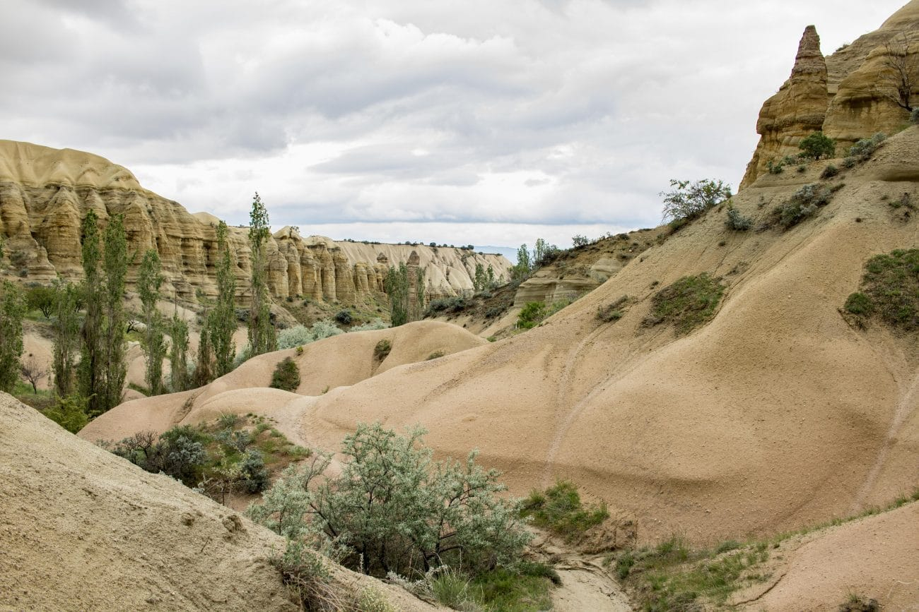 Goereme Nationalpark, das Love Valley in Kappadokien